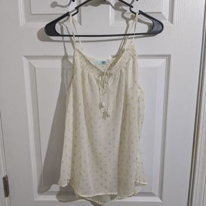 Maurices Cream And Old Tank Size Xl